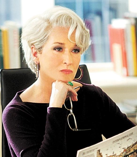 Revista da Hora - 25.09.2011 - BELEZA - A atriz Meryl Streep. Foto: Divulgação